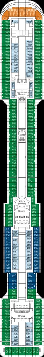 MSC Preziosa: Agata Deck
