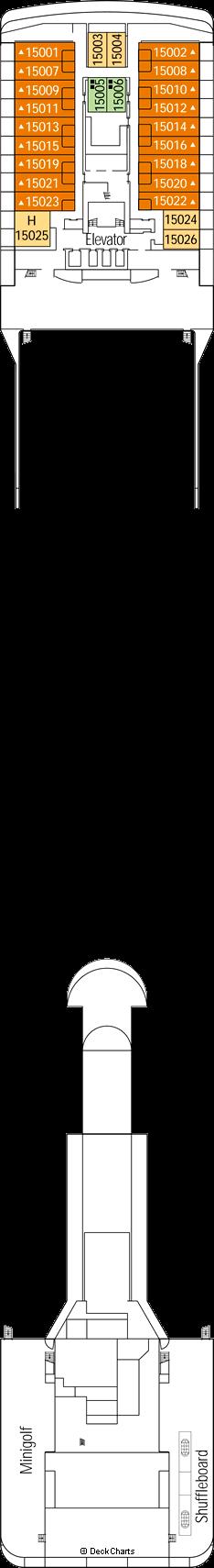 MSC Orchestra: Xilofono Deck