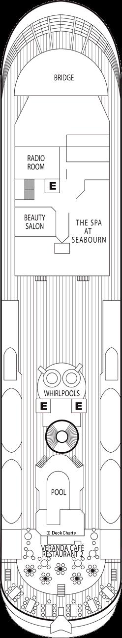 Seabourn Spirit: Deck 7
