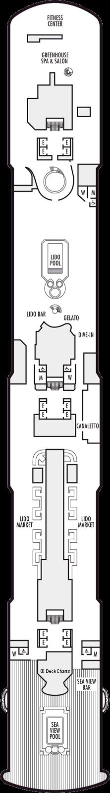 Koningsdam: Lido Deck