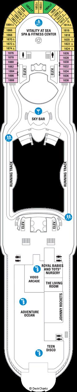 Navigator of the Seas: Deck 12