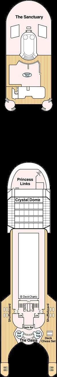 Grand Princess: Sports Deck