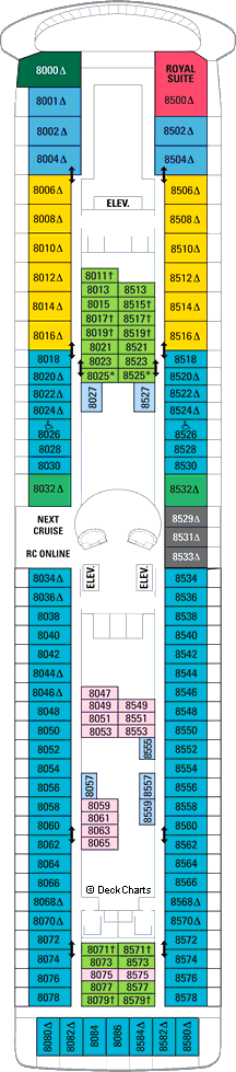 Legend of the Seas: Deck 8
