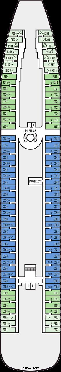 Prinsendam: Main Deck