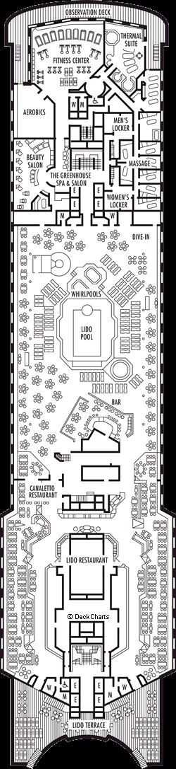 Ryndam: Lido Deck