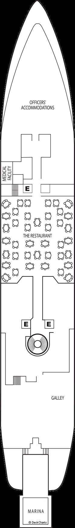Seabourn Spirit: Deck 3