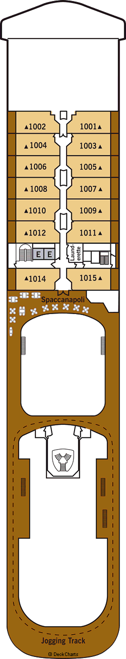 Silver Spirit: Deck 10