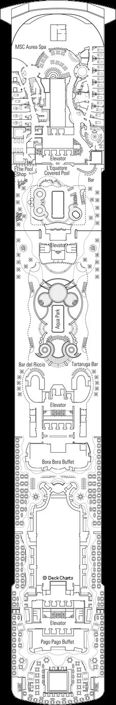 MSC Splendida: Raffaello Deck