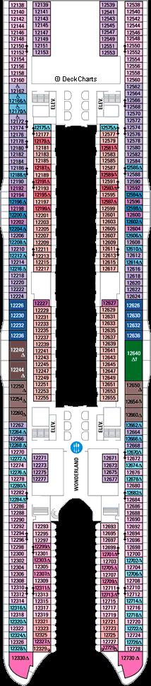 Harmony of the Seas: Deck 12