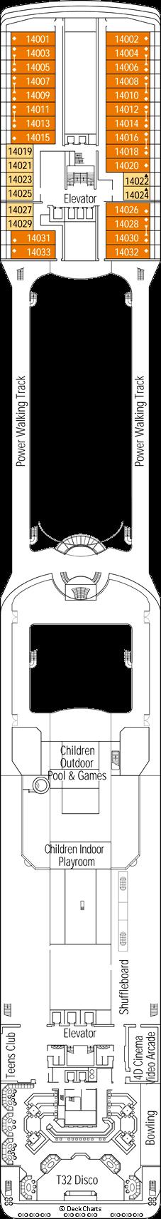 MSC Magnifica: Positano Deck