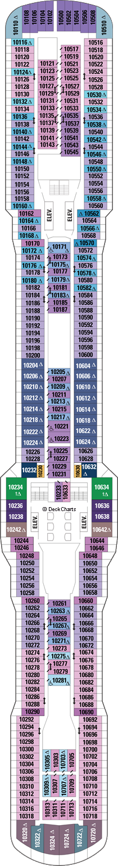 Ovation of the Seas: Deck 10