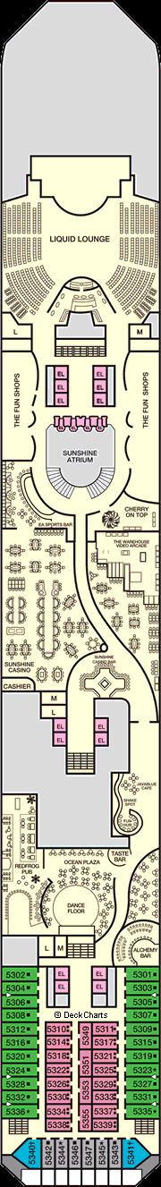 Carnival Sunshine: Promenade Deck