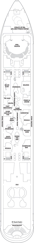 Oasis of the Seas: Deck 5