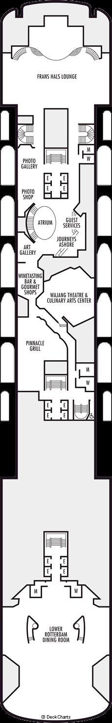 Volendam: Promenade Deck