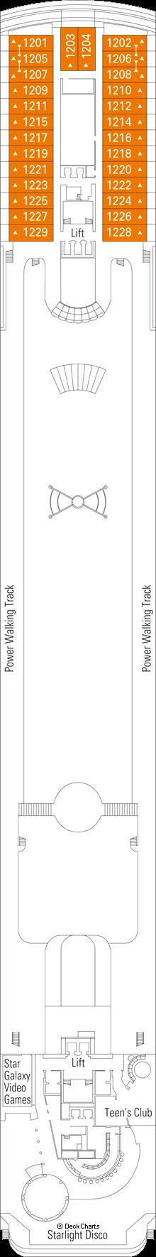 MSC Armonia: Zaffiro Deck
