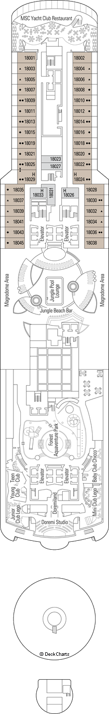 MSC Seaview: Caribbean Deck