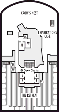 Koningsdam: Observation Deck