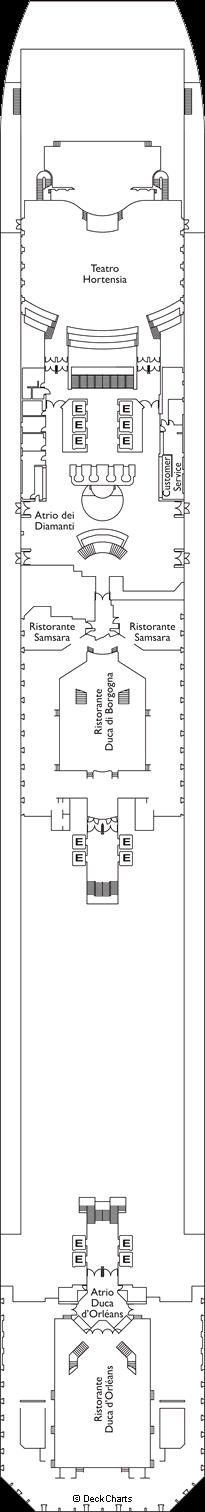 Costa Favolosa: Hermitage Deck