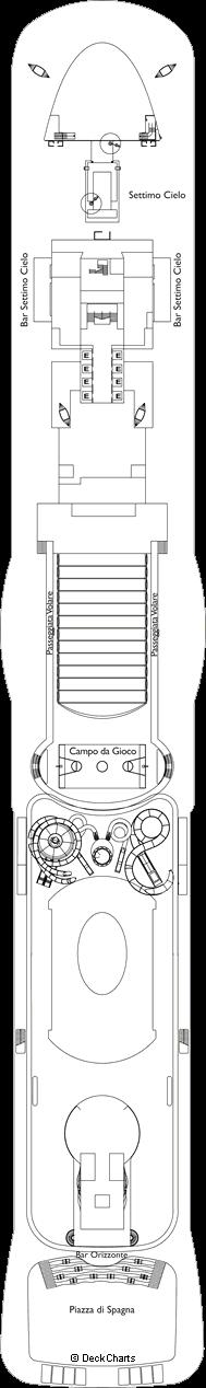 Costa Smeralda : Torino Deck