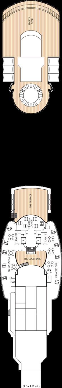 Queen Victoria: Deck 11