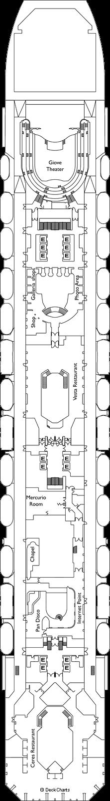 Costa Serena: Orion Deck