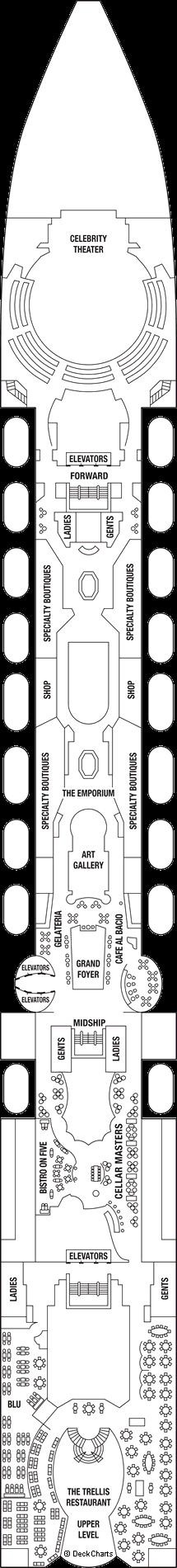 Celebrity Infinity: Deck 5