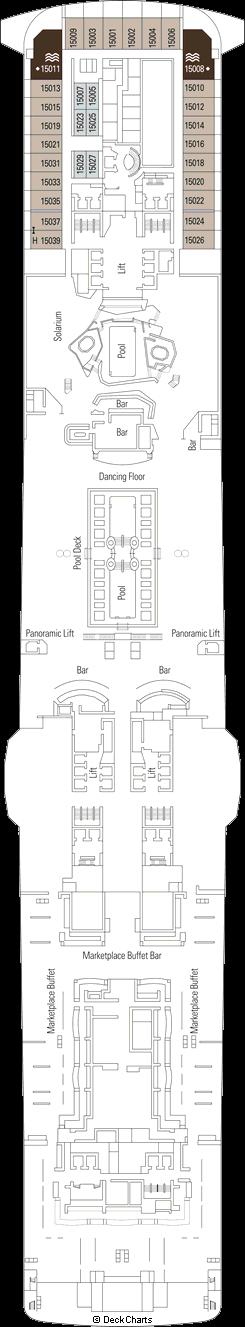 MSC Bellissima: Preziosa Deck