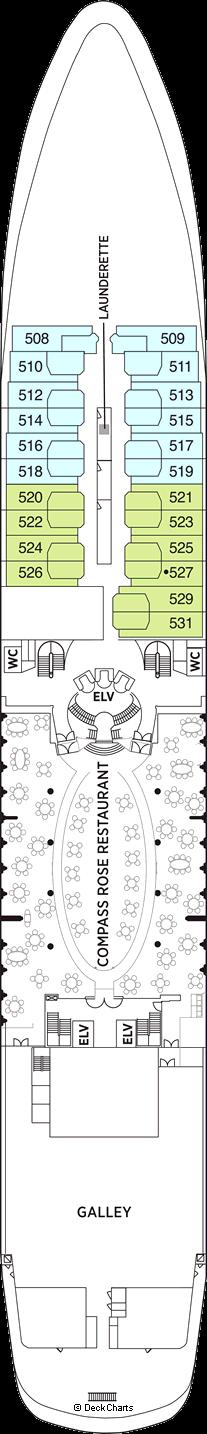 Seven Seas Navigator: Deck 5