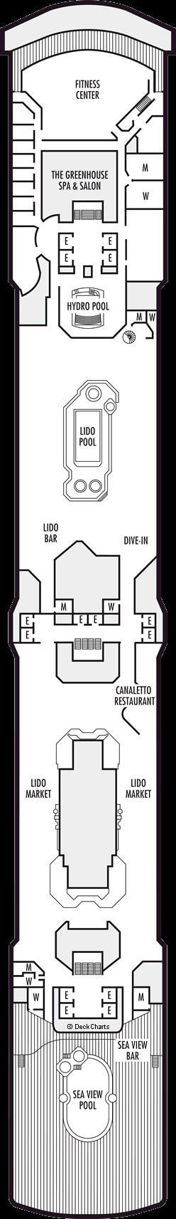Westerdam: Lido Deck