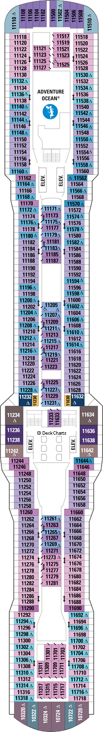 Ovation of the Seas: Deck 11
