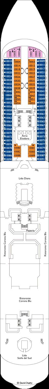 Costa Diadema: Hortensia Deck