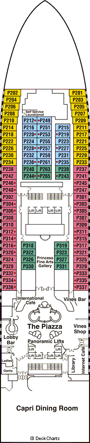 Star Princess: Plaza Deck