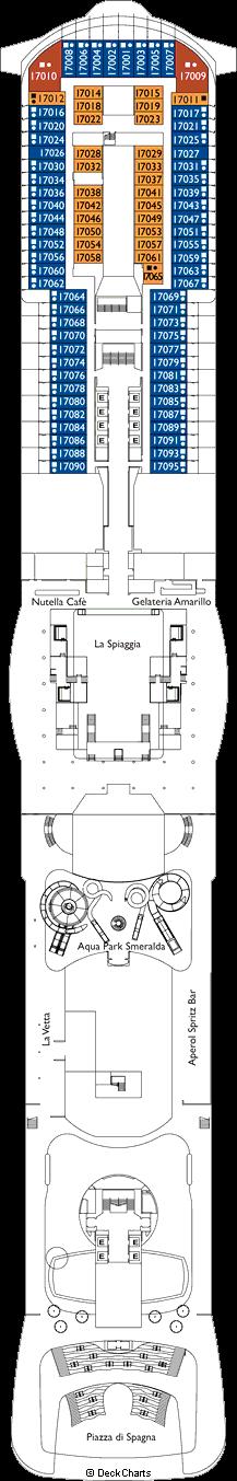 Costa Smeralda : Bellagio Deck