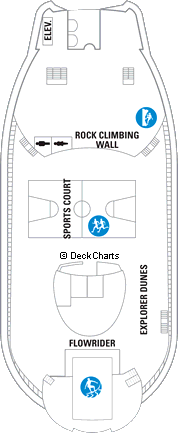 Explorer of the Seas: Deck 13