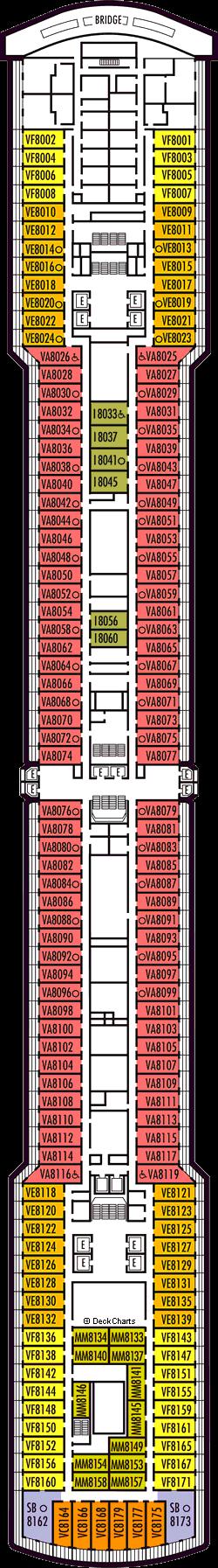 Eurodam: Navigation Deck