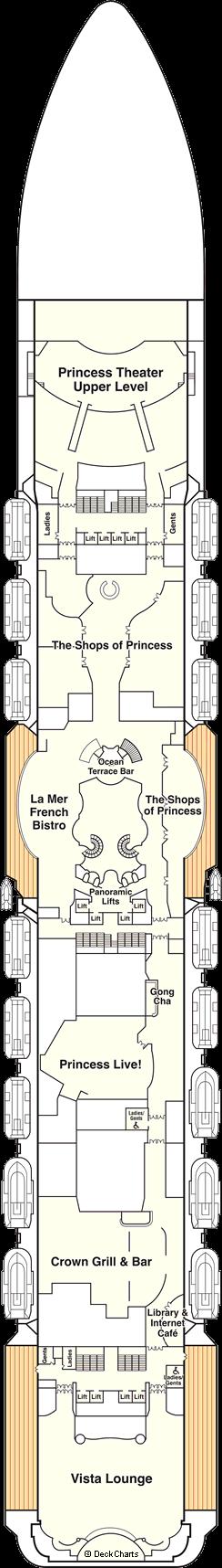 Majestic Princess: Promenade Deck