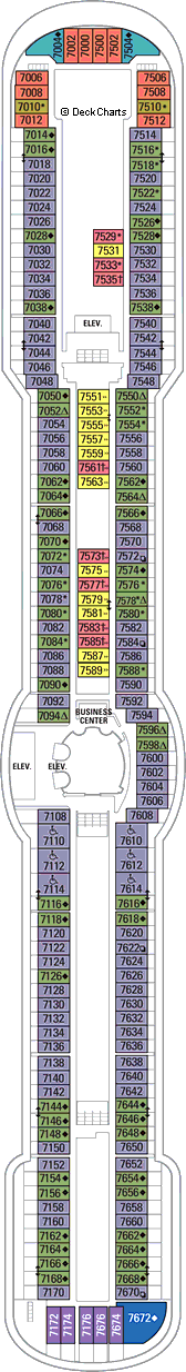 Jewel of the Seas: Deck 7