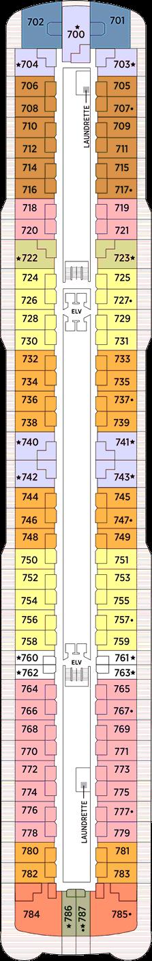 Seven Seas Explorer: Deck 7