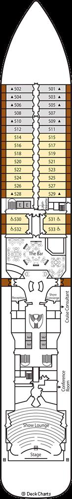 Silver Spirit: Deck 5