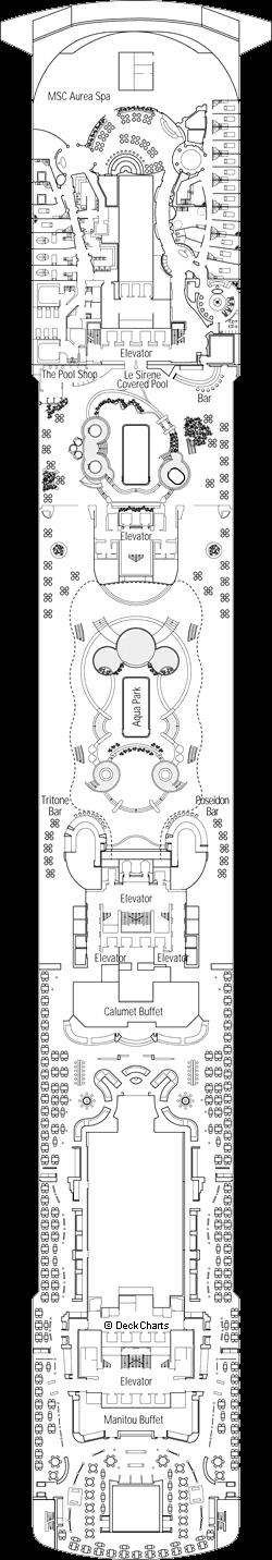 MSC Divina: Afrodite Deck
