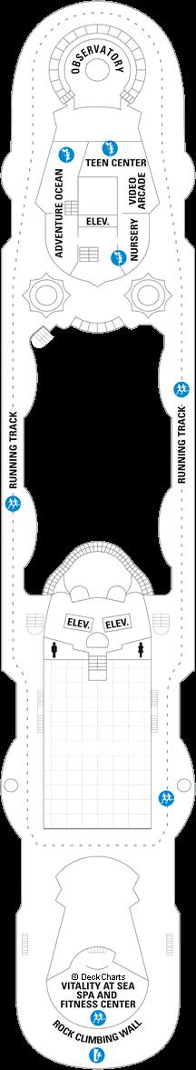 Grandeur of the Seas: Deck 10