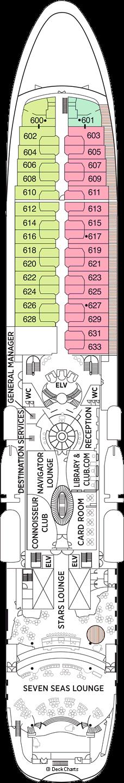 Seven Seas Navigator: Deck 6