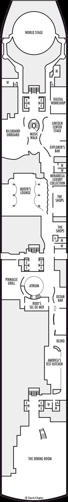 Koningsdam: Plaza Deck