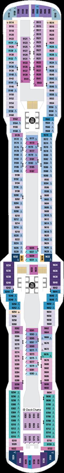 Spectrum of the Seas: Deck 9