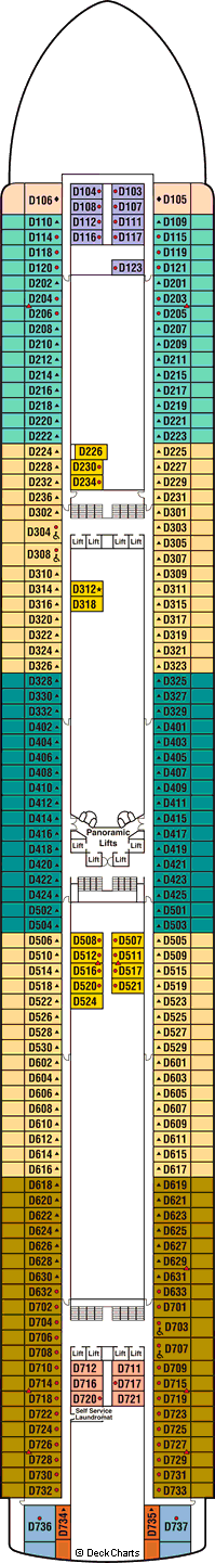 ruby princess deck plans, ship layout \u0026 staterooms cruise criticruby princess dolphin deck