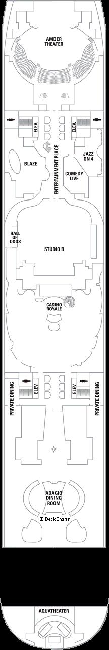 Allure of the Seas: Deck 4