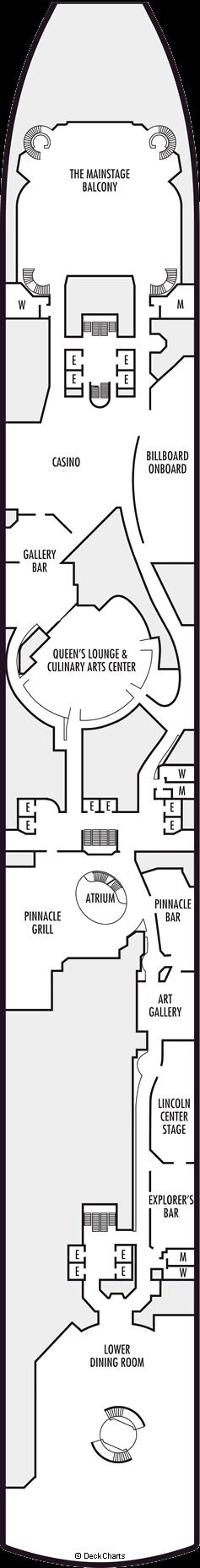 Zuiderdam: Lower Promenade Deck