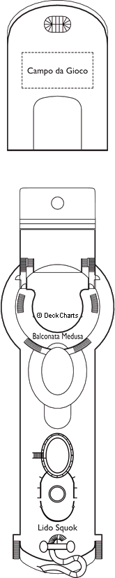 Costa Mediterranea: Pandora Deck