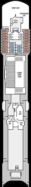 Oosterdam: Observation Deck
