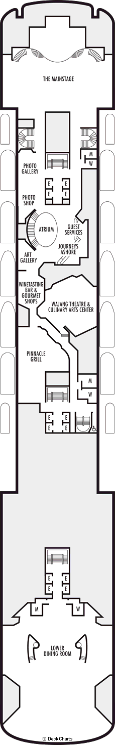 Zaandam: Promenade Deck